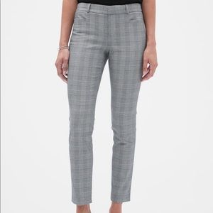 Banana Republic Sloan Menswear Plaid Slim Ankle 6